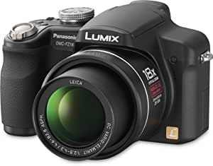 Panasonic Lumix DMC-FZ18K 8.1MP Digital Camera with 18x Wide Angle MEGA Optical Image Stabilized Zoom (Black)