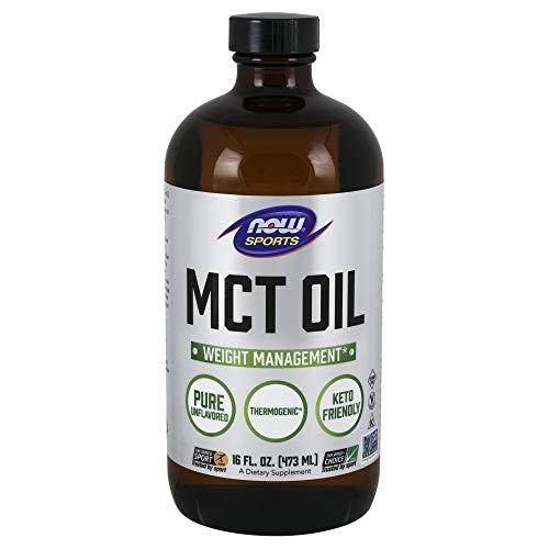 NOW Sports Nutrition, MCT (Medium-chain triglycerides) Oil, Liquid, 16-Ounce