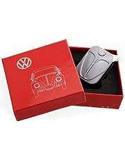 Originele Volkswagen aansteker in voorschild design - in verschillende kleuren - cadeauset (grijs)