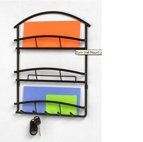 Amazon.com: Wall mount letter MAIL ORGANIZER & Key Rack Decor NEW: Office  Products - Amazon.com: Wall Mount Letter MAIL ORGANIZER & Key Rack Decor NEW