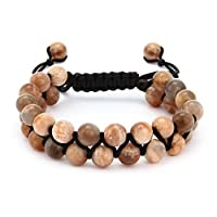 Sunstone Spiritual Bead Bracelet