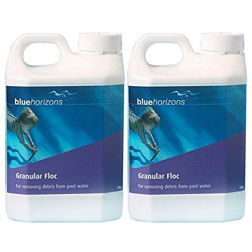 Blue Horizons 4kg Granular Floc Sparkling Water Remove Debris Swimming Pool Pools Flocculant CPC