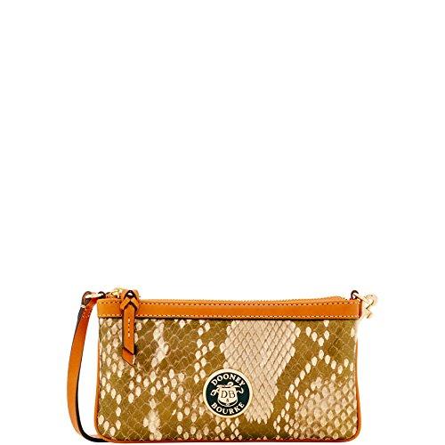 Dooney & Bourke City Python Large Slim Wristlet - Dooney & Bourke Designer Handbags