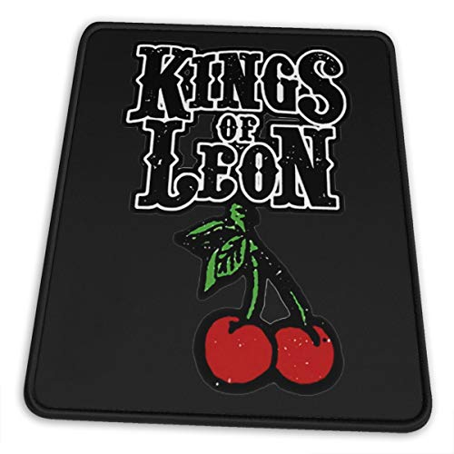 KkdsKkds Kings of Leon Quality Comfortable Mouse Pad Non-Slip Rubber Base Gaming Mouse Pad