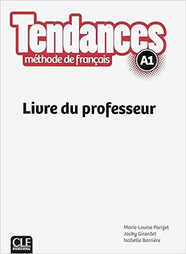 Amazon Fr Tendances Niveau A1 Livre Du Professeur