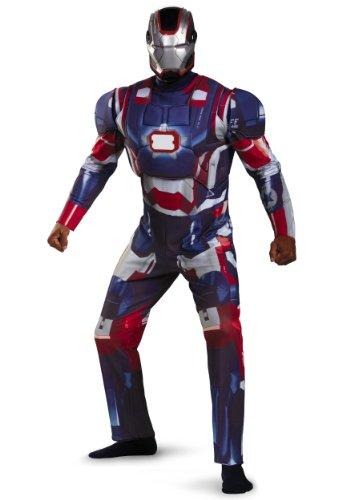 Iron Patriot Deluxe Adult Costume - XX-Large