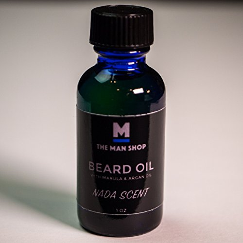 Nada Scent Beard Oil with Marula and Argan Oil - The Man Shop by The Man Shop