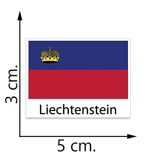 Liechtenstein Flag Temporary Tattoos Sticker Body Tattoo