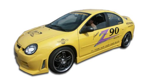 (Duraflex ED-EWE-082 R34 Side Skirts Rocker Panels - 2 Piece Body Kit - Compatible For Dodge Neon 2000-2005)