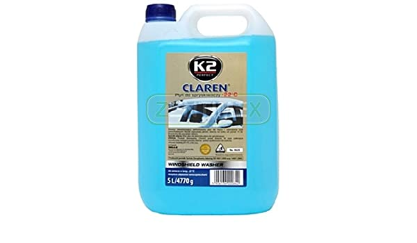 Parabrisas Protección contra Heladas Protección contra Heladas Medio Frost - Anticongelante (Lavado líquido limpiacristales transparente transparente Auto ...