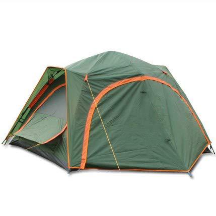 KD Outdoor-Zelt DREI Personen Vier Outdoor-Zwei-Zimmer-Automatik-Zelt Reise Camping-Zelt Wasserdicht Anti-Wind-Zelt