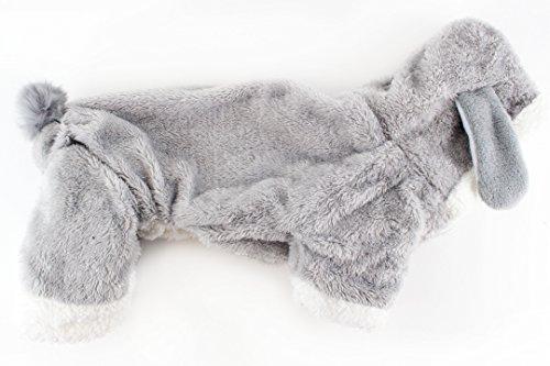 Midlee Small Dog Bunny Dog Costume (Medium) -