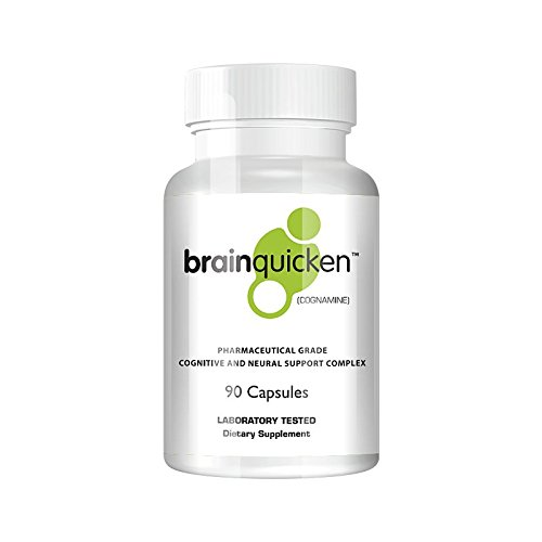 Spring of Life BrainQuicken® Focus, Productivity, and Memory Supplement, (Also sold as Bodyquick), 30 Day Supply