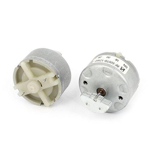 uxcell 2 x Multi Layer Eccentric 18000RPM 3-12V DC Miniature Vibration Motor