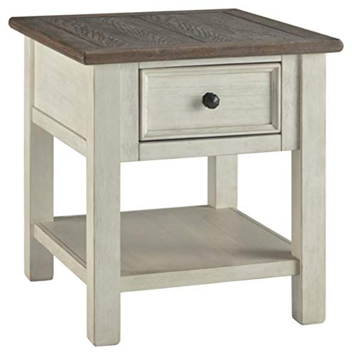Signature Design by Ashley T637-3 Bolanburg End Table, Two-Tone ()