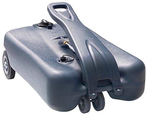 Thetford (40510) Smart Portable Waste Tote Tank with 4 Wheels - 18 Gallon Capacity ()