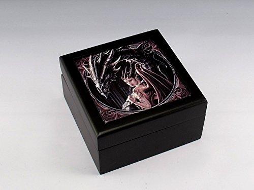 Dragon Tile Box (Anne Stokes Fantasy Tile Box Succubus Dragon Controller 5