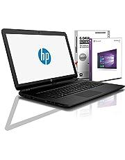 HP (15,6 Zoll) Notebook (AMD A4-9125 Dual Core 2x2.6 GHz, 8GB DDR4 RAM, 1000GB HDD, DVD±R/RW, Radeon R3, HDMI, Webcam, Bluetooth, USB 3.0, WLAN, Windows 10 Prof. 64 Bit, MS Office 2010 Starter) #6113