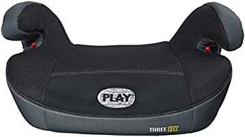 Play Three Fix, Silla de coche grupo 2/3 Isofix, gris/negro