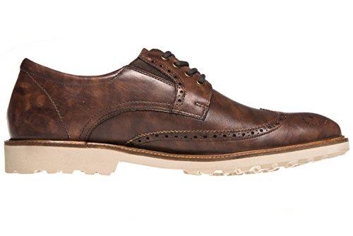 Chaussures Lacets de Marron pour Homme à Manz Ville Marron SHzwqx4