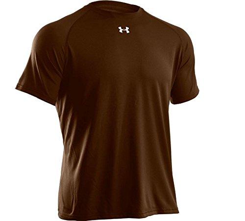 Under Armour Men's Locker Short Sleeve T-Shirt, XX-Large, Cleveland Brown/White