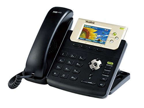 Yealink YEA-SIP-T32G 1-Handset Landline Color IP Phone with POE and 3-Inch LCD