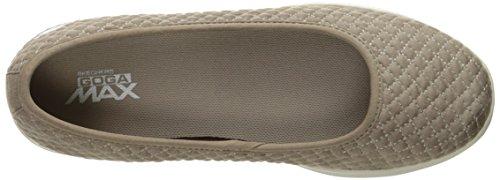 Skechers Womens Go Step Lite-14742 Taupe Per Scarpe Da Passeggio