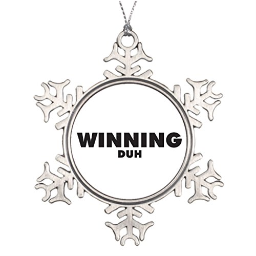 Touytlyd Tree Branch Decoration Winning Duh Pin Snowflake Ornaments Christmas