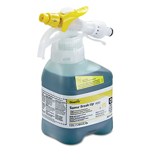 [해외]Johnson Diversey Suma Break-Up Heavy-Duty Foaming Grease-Release Cleaner 1500ml Bottle 2ct New / Johnson Diversey Suma Break-Up Heavy-Duty Foaming Grease-Release Cleaner, 1500ml Bottle, 2ct, New