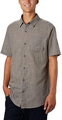 Columbia Under Exposure Camisa de Manga Corta Yarn Dye, Hombre, Gris (City Grey Plaid), M: Amazon.es: Deportes y aire libre