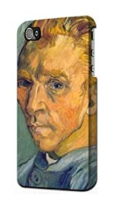 S0211 Van Gogh Portrait de Artiste sans Barbe Case Cover for Iphone 5 5s