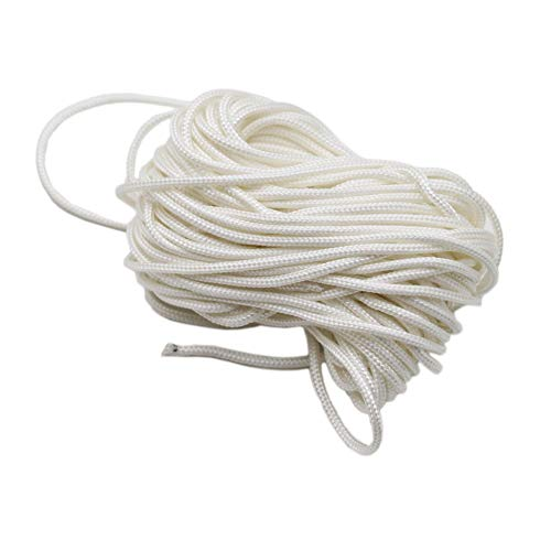 Starter Recoil Rope Pull Cord,PRO BAT,10m(DIA.3.0mm)Lawnmower Strimmer Pull Cord for Husqvarna STIHL Sears Craftsman Poulan Briggs Stratton Lawn Mower Chainsaw Trimmer Edger Brush Cutter Engine Parts