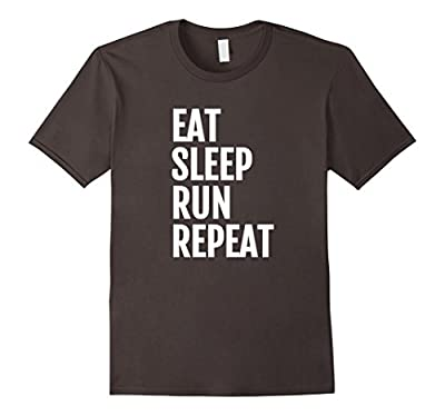 Funny Running Runner's T Shirt: Eat, Sleep, RUN