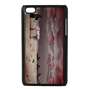 Fashion Horse Personalized ipod touch 4 Case Cover