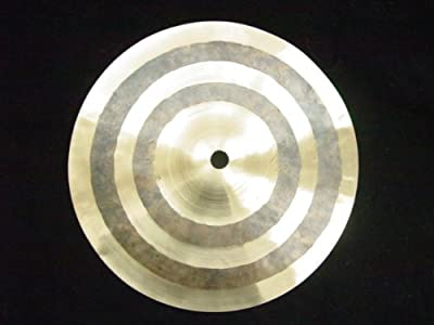 "Drum Cymbal - 8"" Raw - Splash - Accent Percussion Hot from EDMBG"