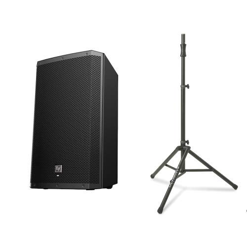 Electro Voice ZLX15BT Active Bluetooth Speaker w/TS-100B Air Assisted Stand - Speakers Voice Electro Dj