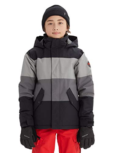Burton Boys' Symbol Jacket, True Black Multi, Large