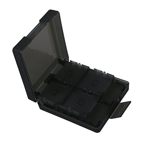 TOOGOO(R) Gray Game Card Holder Box for Nintendo DS Lite NDS ()