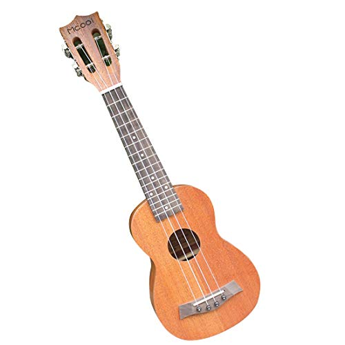 BAOYIT 21-inch Mahogany Four-String Ukulele for Beginners and Professionals Y13