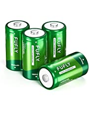 Fufly Rechargeable C Batteries