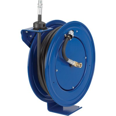 Coxreels Heavy-Duty Medium & High-Pressure Hose Reel - For Oil, 1/2in. x 25ft... by Coxreels