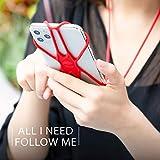 Bone Pink Lanyard Phone Tie 2, Cell Phone Lanyard