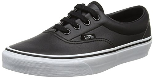 Vans Unisex Era (classic Tumble) Blk / True White Skate Shoe 13 Men Us