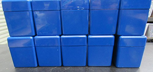 Lot of 10 PCGS Blue Boxes Each Hold 20 Certified Slab Coin (Pcgs 20 Coin)