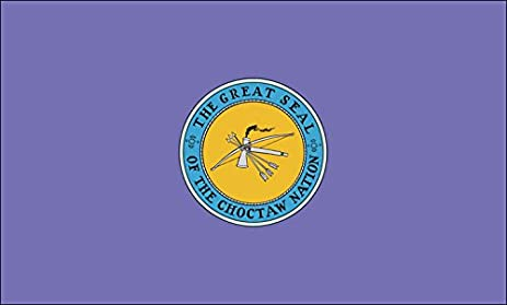 Choctaw Indians Flag