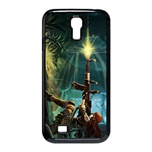 Samsung Galaxy S4 9500 Cell Phone Case Black League of Legends Resistance Caitlyn LOL-STYLE-8536