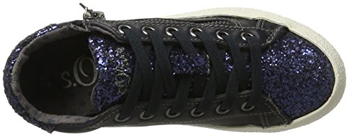 s.Oliver 43101, Zapatillas Para Niños Azul (Navy)