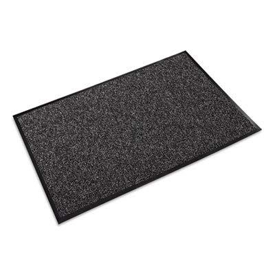 Fore-Runner Outdoor Scraper Mat, Polypropylene, 36 x 60, Gray (2 Pack)