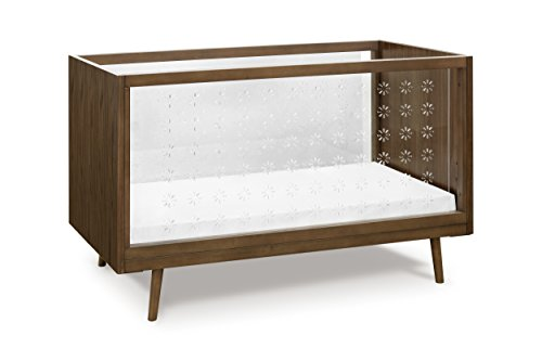Ubabub Nifty Clear 3-in-1 Crib, Walnut