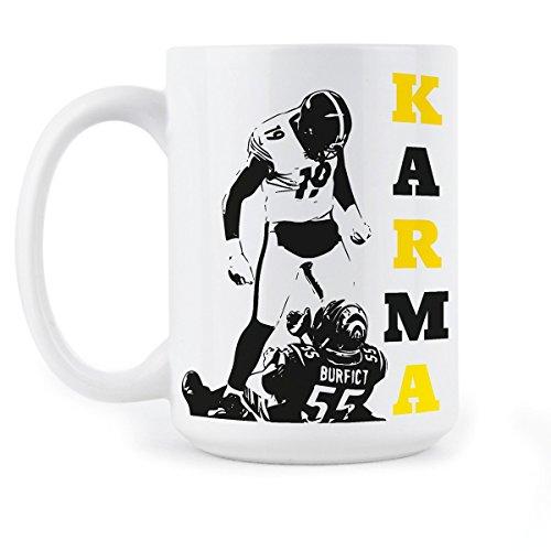 Steelers Coffee Mug Steelers Karma Gift Juju Smith Schuster Karma Gifts Pittsburgh Mugs